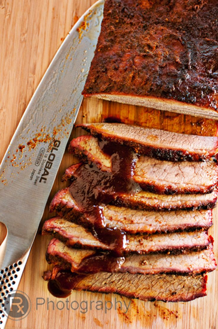 Smoked Brisket on the Big Green Egg « Hungry Foodies Pharmacy. Can't wait to try this, while in the smoker, you 'mist it' with apple juice. That sounds soo good!