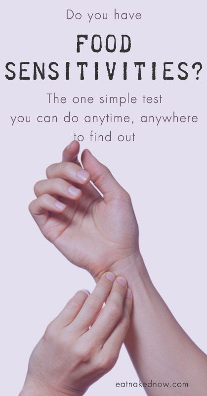 Do you have food sensitivities? The one simple test you can do anytime, anywhere to find out. | eatnakednow.com