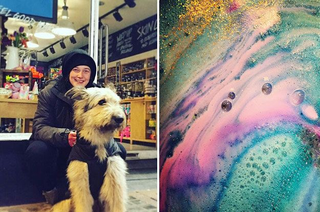 A Homeless Woman And Her Dog Took On Thieves Outside A Lush Store In…