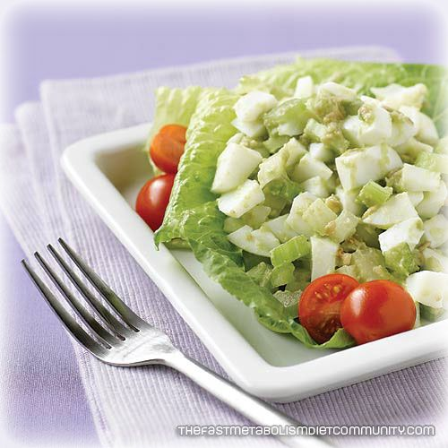 Hard-Boiled Egg Whites with Avocado – Phase 3, the fast ...