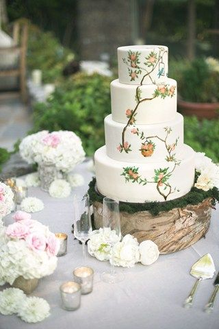 Painted Wedding Cake Pictures (BridesMagazine.co.uk) (BridesMagazine.co.uk)