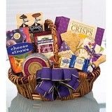 Especially For You Basket Chocolate Favorites Details: This celebration comes in an elegant basket that is a perfect keepsake after the treats are finished. California Crisps crackers, cheese straws, mustard, cheese spread and cashews provide savory sensations.  This basket delivers the message of appreciation, time and time again. #chocolatelovers #afflink