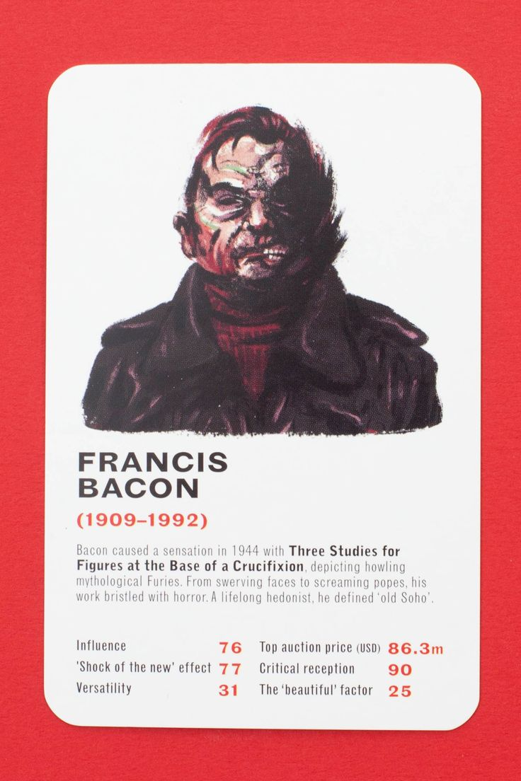 Does Banksy beat Bacon? Artist top trumps – in pictures