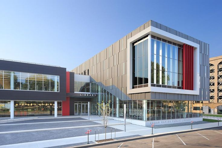 Cedar Rapids Public Library, designed by OPN Architects