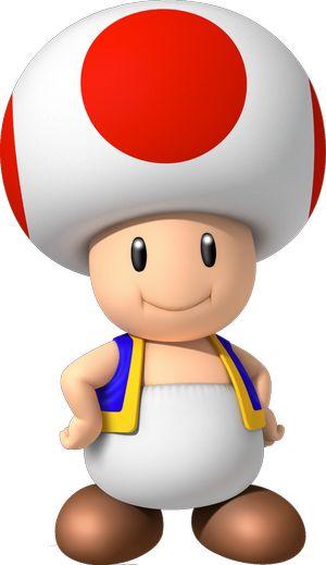 Toad é uma personagem presente nas séries do Super Mario. Toad faz a sua aparência em muitos...