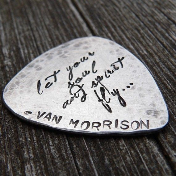 Handfinished Solid Sterling Guitar Pick by birthdesigns on Etsy, $64.00