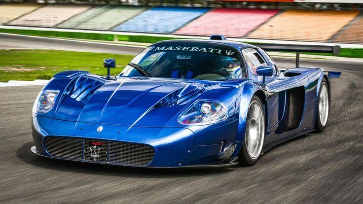 Road-going Edo MC12 VC created as Maserati's 100th anniversary model