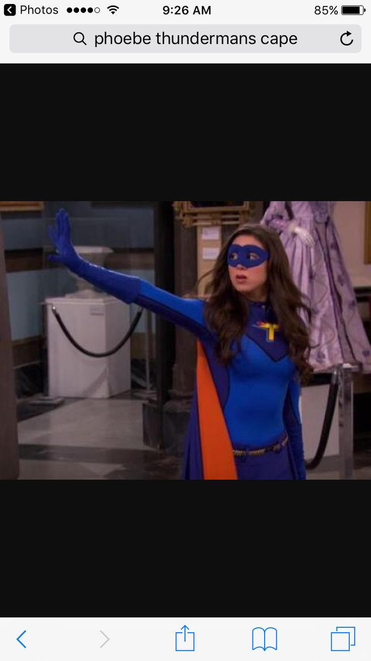 Phoebe Thunderman is my favorite character in The tv show Thundermans.🙂✌🏾️💗❤️