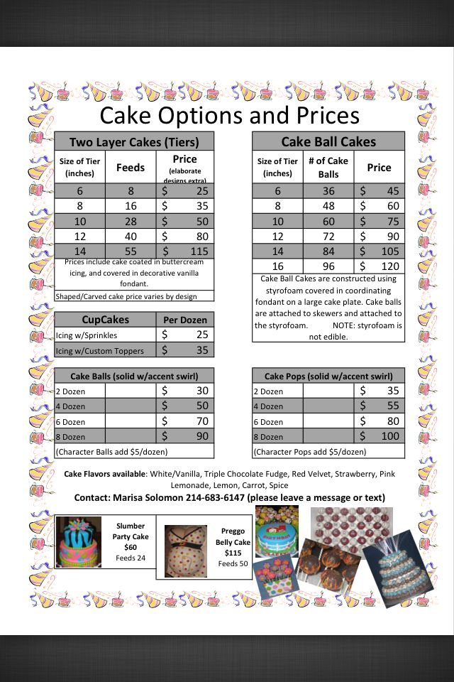 Cake Price Sheet Cake Prices Ideas Pinterest Cake Cake