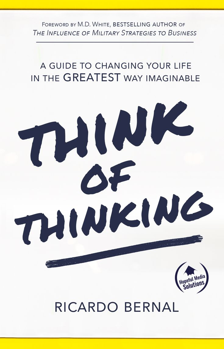 THINK OF THINKING, the upcoming instant bestseller, reveals the secret to guaranteed health, wealth, and prosperity