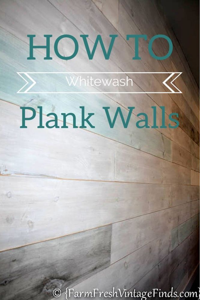 How+to+Whitewash+Plank+Walls
