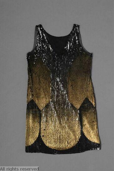 1925-1930 evening dress