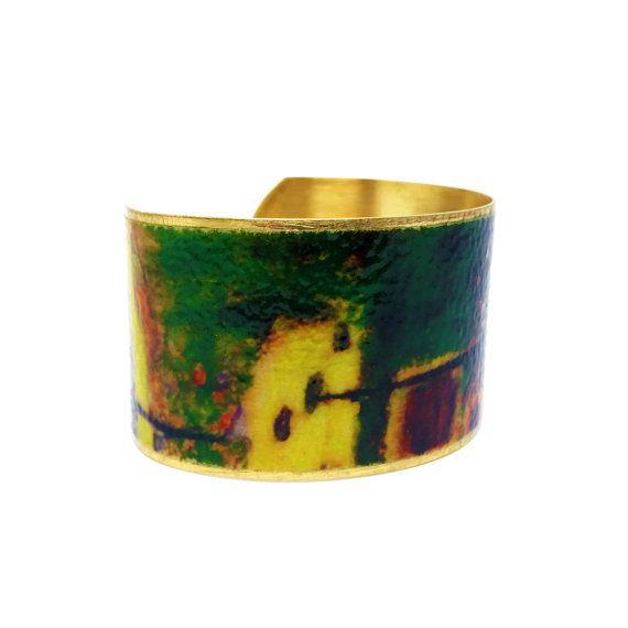 50% OFF SALE JEWELRY - Brass Cuff Bracelet - Wearable Art Jewelry - Brass Statement Bracelet - Elegant Bracelet - Sku R8-014  with <3 from JDzigner www.jdzigner.com
