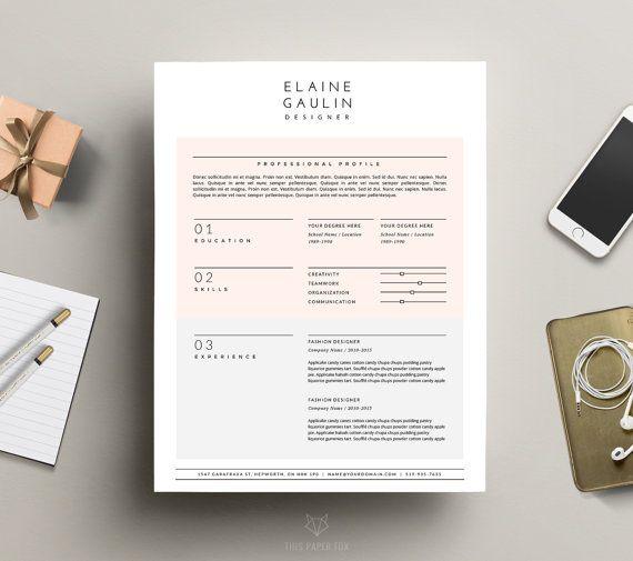 77 best resume \ folio inspiration images on Pinterest Plants - iwork resume templates