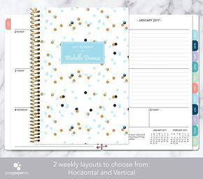 2017 2018 planner kalender Kies start maand  maandelijkse