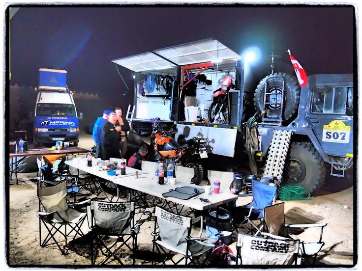 Intercontinetal Rally 2014 MAN KAT service Truck
