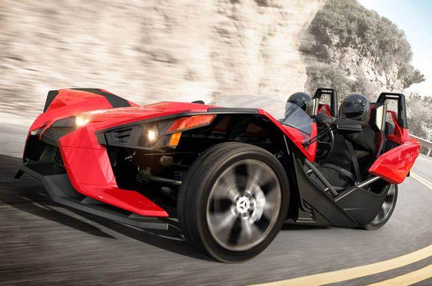 Polaris Slingshot hits the road on all three wheels [w/videos ...