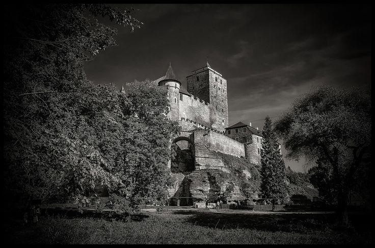 Photograph castle Kost bw by Václav Verner on 500px