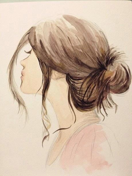 I like her hair: