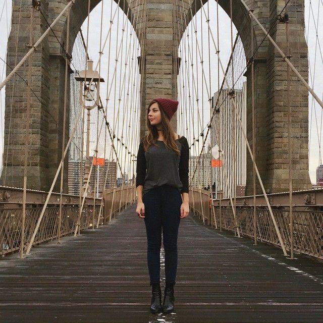 Brooklyn Bridge✌️#GivaEmNY #PartiuIE @ieintercambio