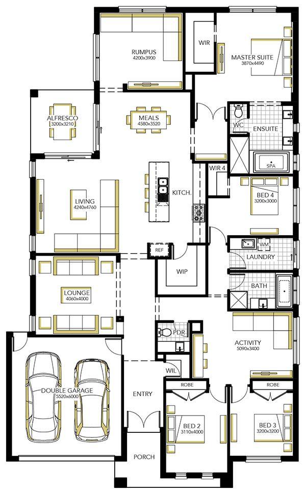Home Designs House Plans Melbourne Carlisle Homes Home Design Floor Plans Best House Plans House Blueprints