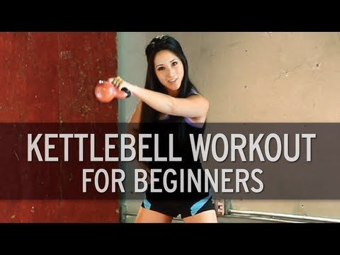 Basic Kettlebell Workout For Beginners On today's episode of XHIT, fitness expert Kelsey Lee shows you hot to perform a beginner's version of a kettlebell workout. You asked for it, we made it for you! Follow along with Kelsey on this kettlebell routine and see if you can master it well enough to advance...