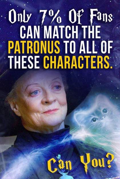 Only 7% Of Fans Can Match The Patronus To All Of These