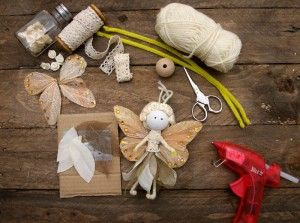 No Sew Fairy Tutorial