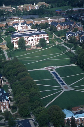 McKeldin Mall -- Maryland University, College Park.