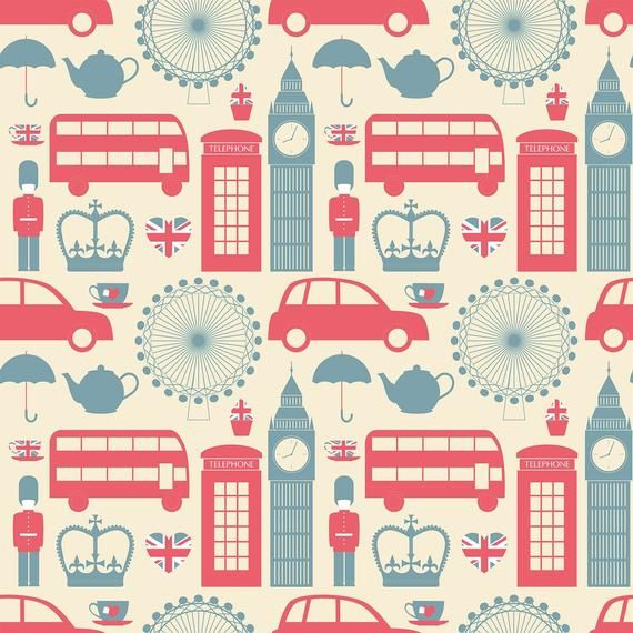 Blue And White Travel Themed Peel And Stick Removable Etsy In 2021 London Wallpaper Peel And Stick Wallpaper Wallpaper Panels