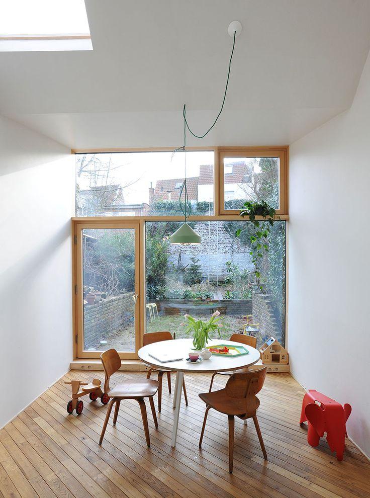 Leuke glaspartij  PIETER & DOOR BIS - MADAM architectuur