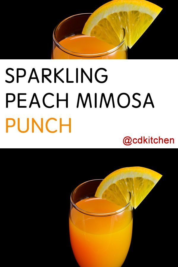 Mimosas are a popular brunch cocktail but if you need to serve a crowd ...