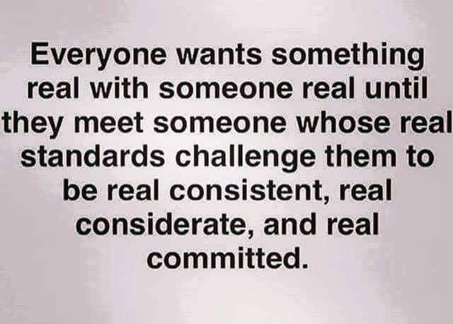Realness..