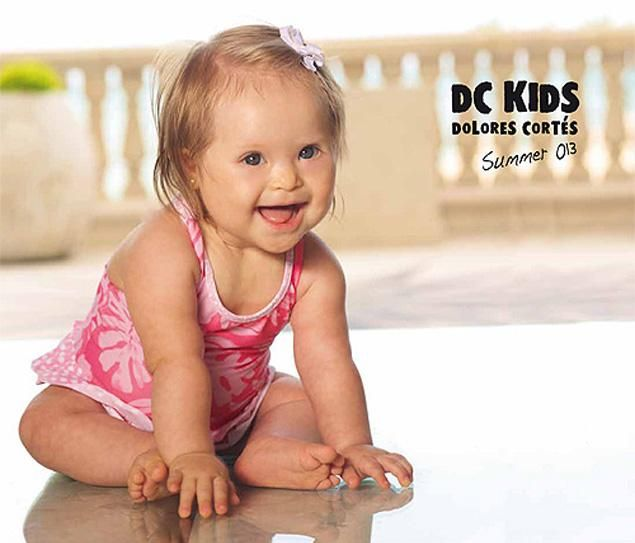 Baby Girl with Down Syndrome is Swimwear Model