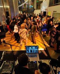 Woolly Mammoth Theater Wedding Dj Bryan George Music Services Washington Dc
