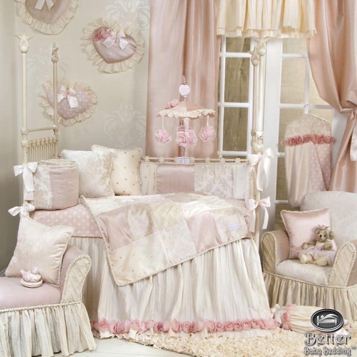 Best Princess Nursery Images On Pinterest - Light pink nursery decor