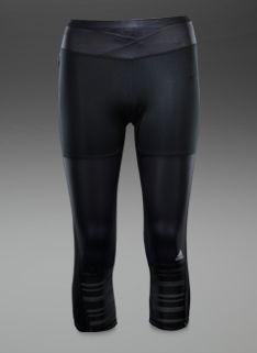 Womens Clothing - Womens adidas Supernova 3/4 Tights - Black/Black