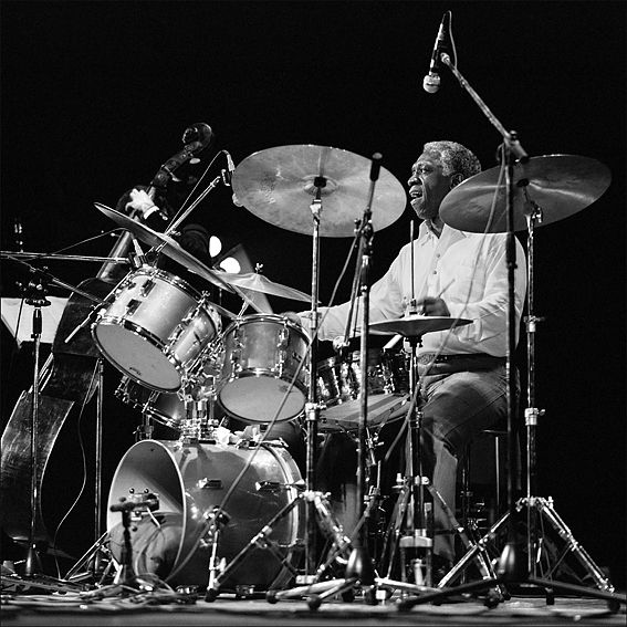 """Art Blakey"" @ All About Jazz photo gallery. View more jazz photos by Carlo Rondinelli"