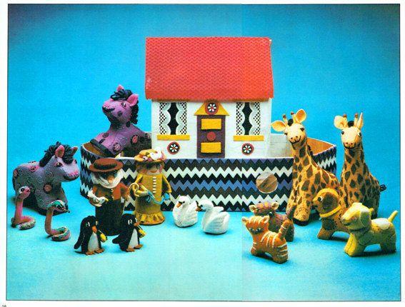Genuine Vintage 1960s 'Noahs Ark' Complete Set by TheAtticofKitsch