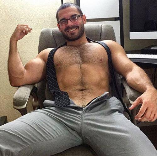 gay sexy top-less