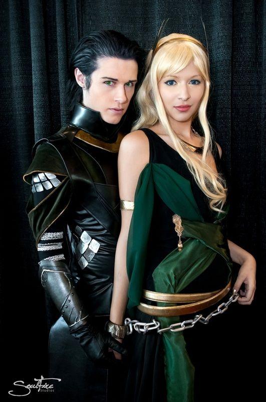 Loki & Sigyn (from Thor 2)