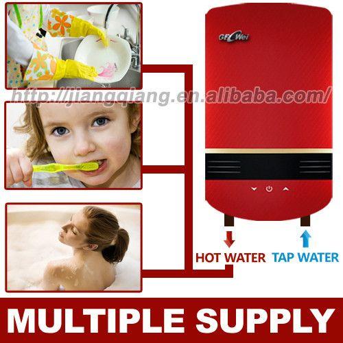 Instan tankless pemanas air listrik untuk mandi/shower DSK-IMDG1 8800 W Langsung suhu pengaturan