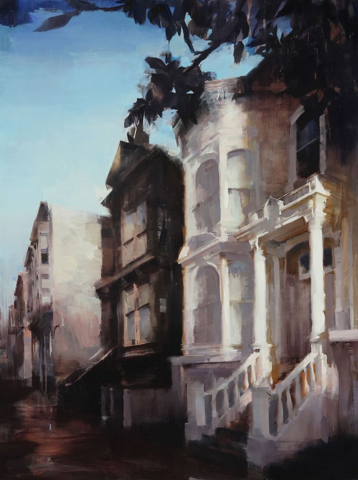 Flashback: Kim Cogan Explores Memories Of San Francisco As A Source Of Meaning For The Future  #art #california #flashback #kimcogan #memory #nostalgia #painting #sanfrancisco