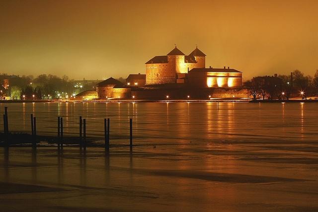 Häme Castle is one of Finlands medieval castles locating in Hämeenlinna.  #castle #Finland #history #attraction