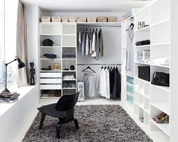 Ankleidezimmer mit fenster ideen  Die besten 25+ Selbst bauen begehbarer kleiderschrank Ideen nur ...
