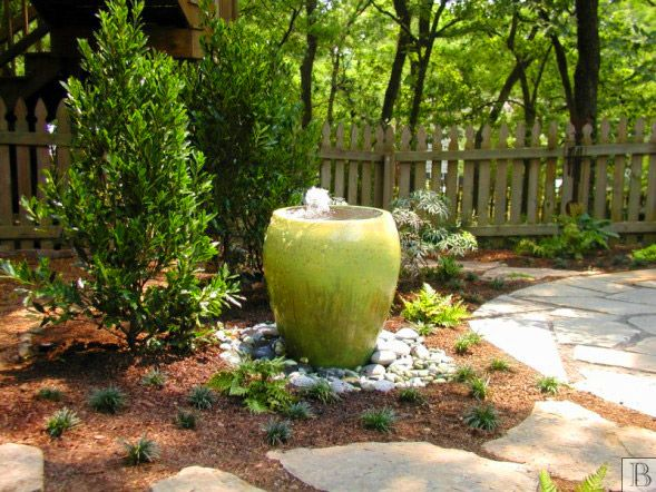 garden design garden design with backyard patio and water feature - Small Patio Water Feature Ideas