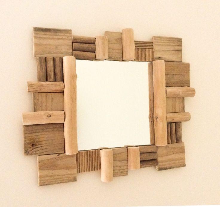 1000 id es sur le th me miroir en bois flott sur for Miroir en bois flotte