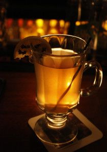 Traditional Scottish Hot Toddy. My mother fed this to us in pots! Swore it cures…