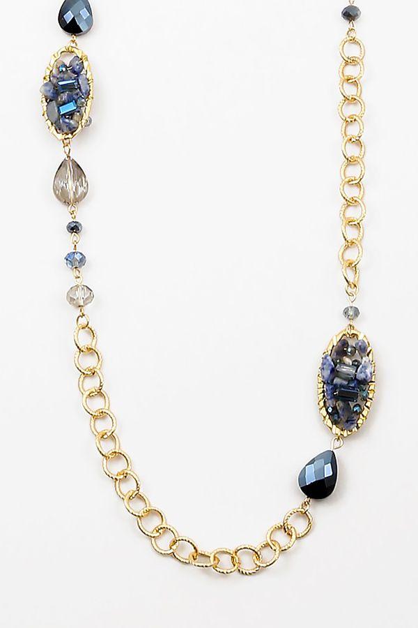 Sodalite Brielle Necklace on Emma Stine Limited