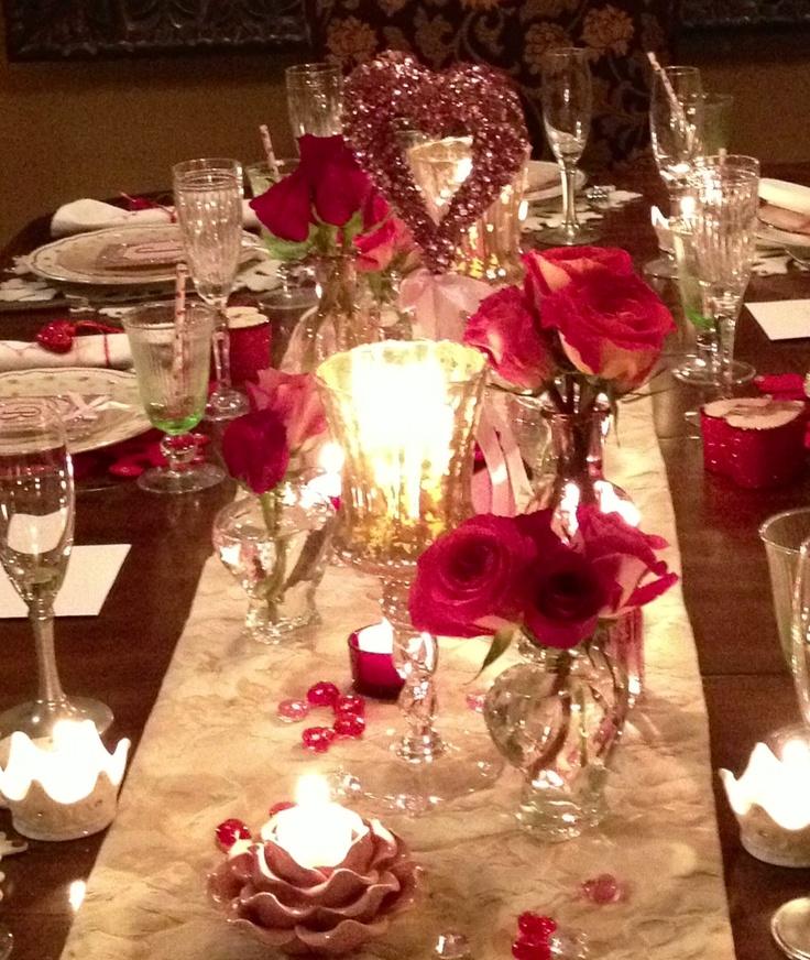 Valentines dinner grand children ideas pinterest for Valentine dinner party ideas